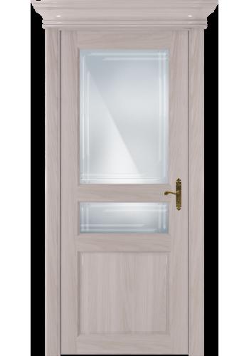 Двери Статус 533ГР Ясень стекло Грань