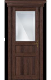 Двери Статус 532ГР Орех стекло Грань