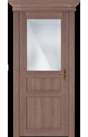 Двери Статус 532ГР Дуб капучино стекло Грань