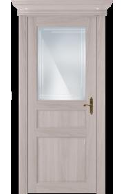 Двери Статус 532ГР Ясень стекло Грань