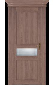 Двери Статус 534ГР Дуб капучино стекло Грань