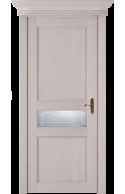 Двери Статус 534ГР Дуб серый стекло Грань