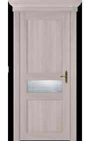 Двери Статус 534ГР Ясень стекло Грань
