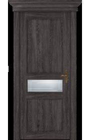Двери Статус 534ГР Дуб патина стекло Грань