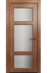 Двери Статус 542 Анегри стекло Сатинато белое матовое
