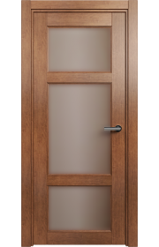 Двери Статус 542 Анегри стекло Сатинато бронза