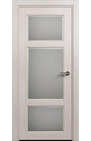 Двери Статус 542Ф Ясень стекло Фацет