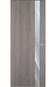 Двери Статус 703 Дуб серый стекло Зеркало