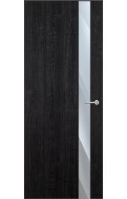 Двери Статус 703 Дуб черный стекло Зеркало