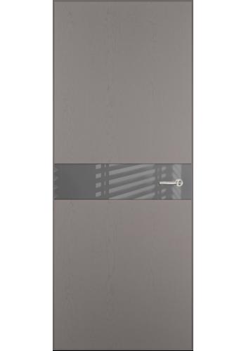 Двери Статус 702 Грей стекло Лакобель серое
