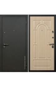 Двери Стальная линия Оптима Шелк черный - Венге светлый