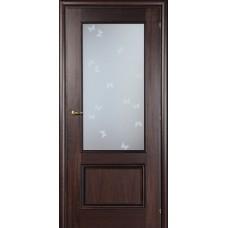 Дверь Марио Риоли Domenica 511B орех махагон ДГ