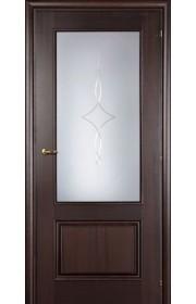 Дверь Марио Риоли Domenica 511A орех махагон ДО