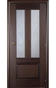 Дверь Марио Риоли Domenica 512VA орех махагон ДО