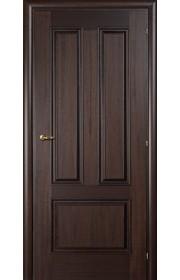 Дверь Марио Риоли Domenica 530V орех махагон ДГ