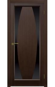 Двери Матадор Атик 3 Венге Стекло черное