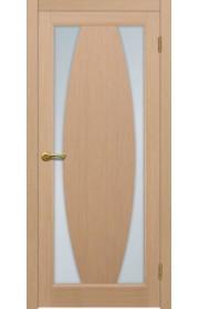 Двери Матадор Атик 3 Беленый дуб Стекло светлое