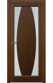 Двери Матадор Атик 3 Орех люкс Стекло светлое