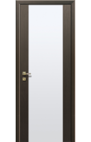 Дверь Профиль Дорс 8Х Венге мелинга Стекло белое