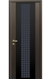 Дверь Профиль Дорс 8X Futura Венге Мелинга Черный триплекс