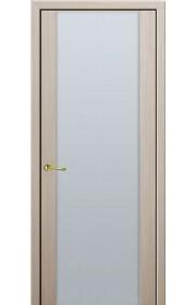 Дверь Профиль Дорс 8X Капучино Мелинга Белый триплекс