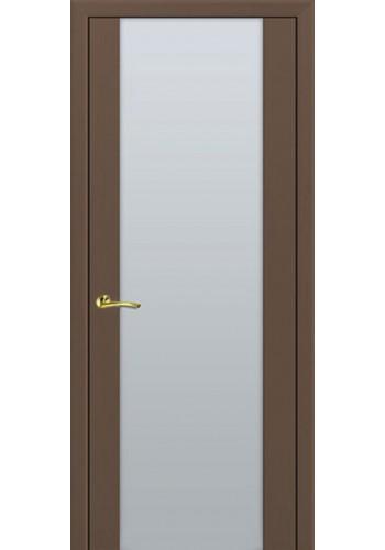 Дверь Профиль Дорс 8X Малага Черри Кроскут Белый триплекс