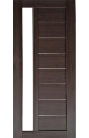 Дверь Профиль Дорс 37Х Венге мелинга Стекло белое