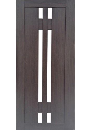 Дверь Профиль Дорс 40Х Венге мелинга Стекло белое