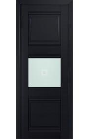 Двери Профиль Дорс 5U Черный матовый Стекло Узор матовый 2