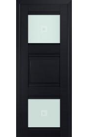 Двери Профиль Дорс 6U Черный матовый Стекло Узор матовый 2