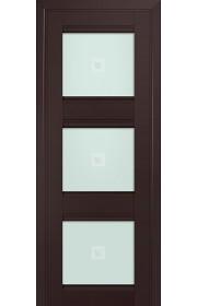 Двери Профиль Дорс 4U Темно-коричневый Стекло Узор матовый 2