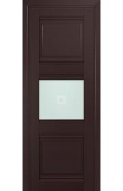 Двери Профиль Дорс 5U Темно-коричневый Стекло Узор матовый 2