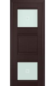 Двери Профиль Дорс 6U Темно-коричневый Стекло Узор матовый 2