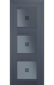Двери Профиль Дорс 4U Антрацит Стекло Узор графит 2