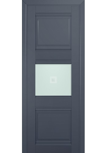 Двери Профиль Дорс 5U Антрацит Стекло Узор матовый 2