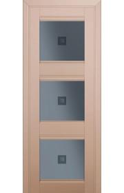 Двери Профиль Дорс 4U Капучино Сатинат Стекло Узор графит 2