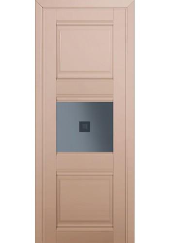 Двери Профиль Дорс 5U Капучино Сатинат Стекло Узор графит 2