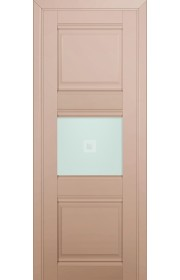 Двери Профиль Дорс 5U Капучино Сатинат Стекло Узор матовый 2