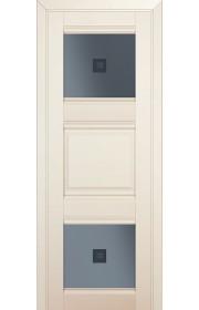 Двери Профиль Дорс 6U Магнолия Сатинат Стекло Узор графит 2