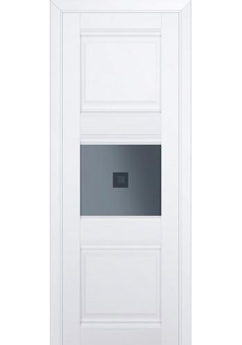 Двери Профиль Дорс 5U Аляска Стекло Узор графит 2
