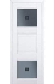 Двери Профиль Дорс 6U Аляска Стекло Узор графит 2