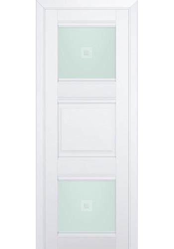 Двери Профиль Дорс 6U Аляска Стекло Узор матовый 2