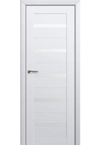 Двери Профиль Дорс 7U Аляска Стекло Белый Триплекс