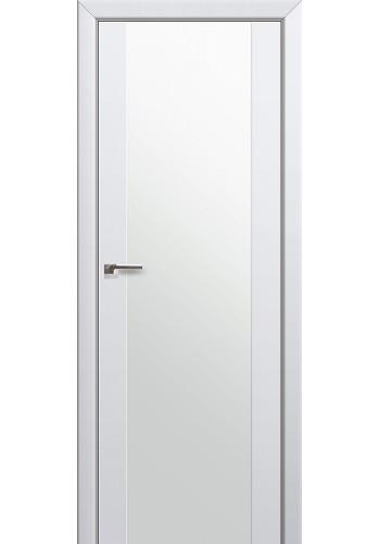 Двери Профиль Дорс 8U Аляска Стекло Белый Триплекс