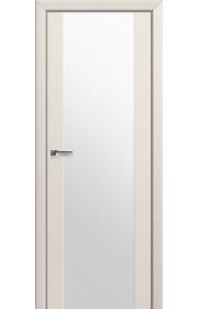 Двери Профиль Дорс 8U Магнолия Сатинат Стекло Белый Триплекс