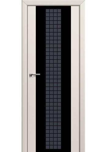Двери Профиль Дорс 8U Магнолия Сатинат Стекло Futura