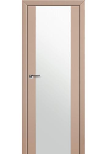 Двери Профиль Дорс 8U Капучино Сатинат Стекло Белый Триплекс
