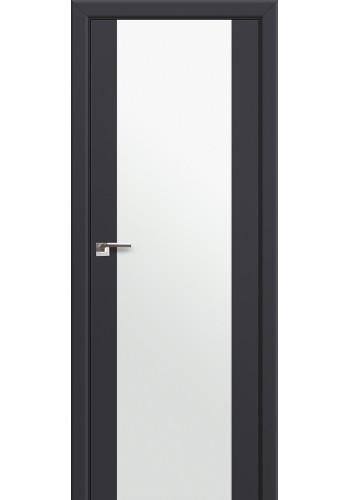 Двери Профиль Дорс 8U Антрацит Стекло Белый Триплекс