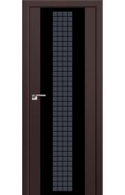 Двери Профиль Дорс 8U Темно-коричневый Стекло Futura