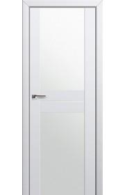 Двери Профиль Дорс 10U Аляска Стекло Белый Триплекс